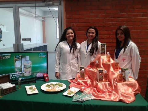UTV: Exponen en la UNAH productos farmacéuticos elaborados por estudiantes