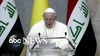 Inside the pope's trip to Iraq