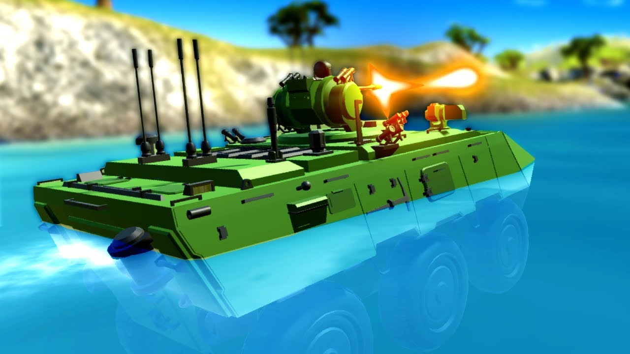 This New Amphibious Tank is Incredible! - Ravenfield Update