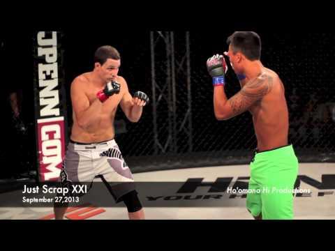 Joey Aquino vs Adam Collarile (Just Scrap XXI Hilo,Hawaii)