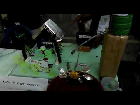 Hydroelectric project by St Mira's high school