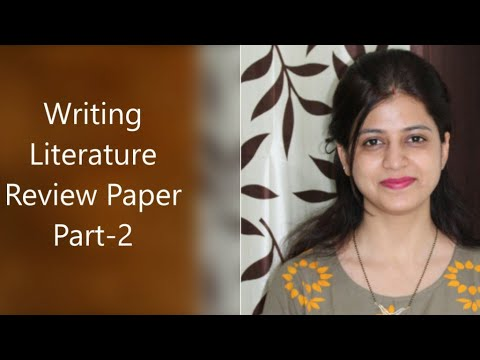 Writing Literature Review Part:2 Step Wise Tutorial |PhD|Research| |UGC|