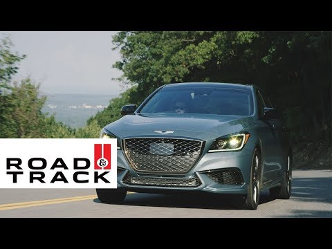 Go Inside the New Genesis G80 Sport | Road and Track + Genesis