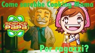 Science Papa - Gameplay ITA Nintendo Wii - Cooking Mama per maschi? :o