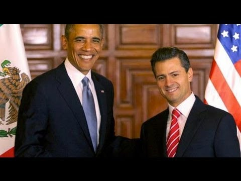 Obama Visits Mexico - US Policy Helped Create a Land of Government Corruption and Narco Gangs