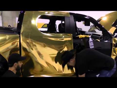 Dream, Wrap, Ride (Gold Chrome)