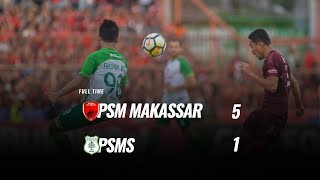 Download Video [Pekan 34] Cuplikan Pertandingan PSM Makassar vs PSMS, 9 Desember 2018 MP3 3GP MP4