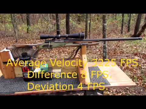 243 Winchester Load development for deer hunting