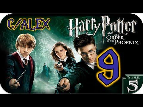 ⚡Harry Potter y la Orden del Fénix | Capítulo #9 - Cámaras y gárgolas [C/Alex] (PC 1080p)