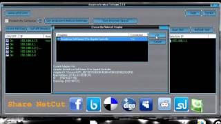 شرح برنامج netcut لقطع الاتصال عن المتسللين إلى شبكتك