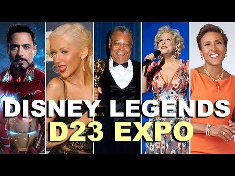 🔴LIVE:  Disney's Legends Awards at D23 Expo 2019 - Robert Downey Jr, Christina Aguilera, & More!