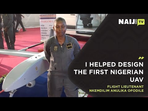 Female aerospace engineer from the Tsaigumi UAV team