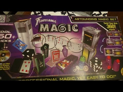 Fantasmas Magic Astounding magic kit review!