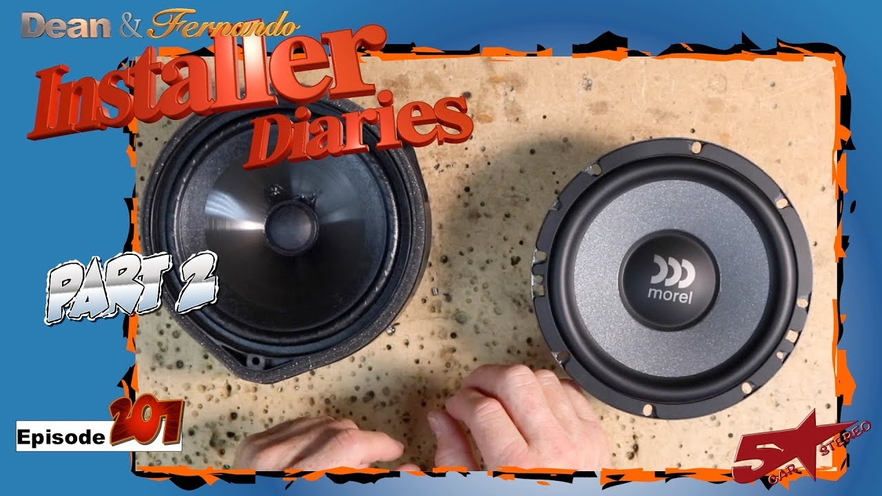The Morel front speakers go into the 2019 Honda Accord Installer Diaries  207 part 2