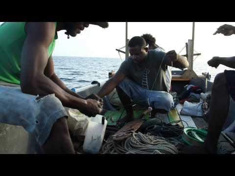 Fishing in Berlin, Papua New Guinea
