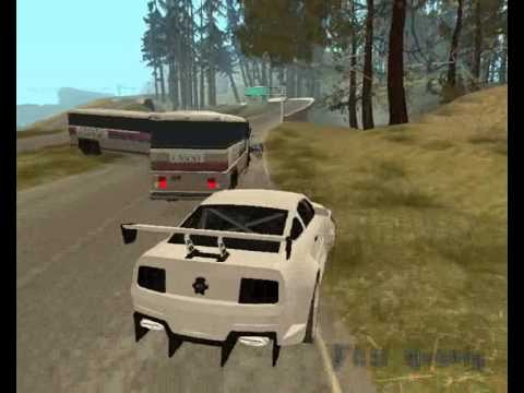 GTA San Andreas - Ford Mustang GT Road Trip