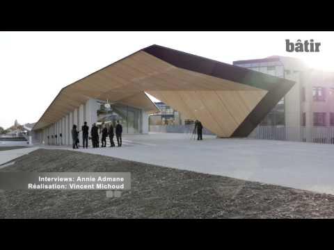 L'EPFL inaugure le ArtLab de Kengo Kuma