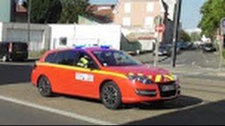 Groupe incendie / Löschzug Sapeurs Pompiers CSP Mulhouse & Police Municipale