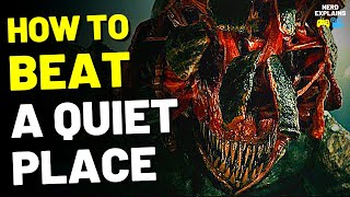 """How to Beat the DEATH ANGELS in """"A QUIET PLACE"""" (2018)"""