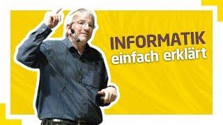 Jens Gallenbacher: Wieso Informatik mehr mit dem Mensch, als mit Computern zu tun hat