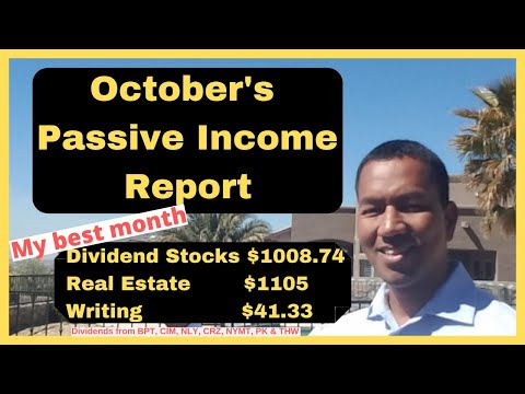 October Passive Income Strategy