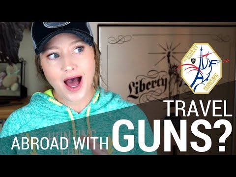 An American Traveling to Paris... with Guns to Compete | JulieG.TV