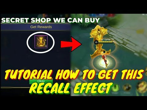 SECRET SHOP For RECALL EFFECTS You Didn't Know For Sure