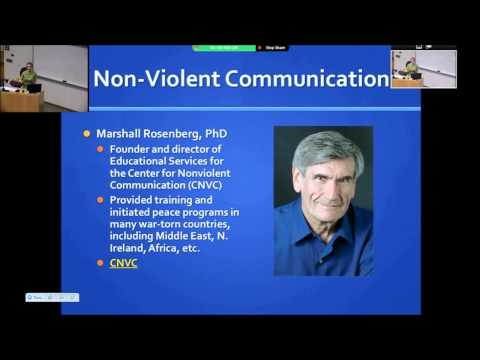 Non-Violent Communication: Useful strategies communicating in relationships and within the workplace
