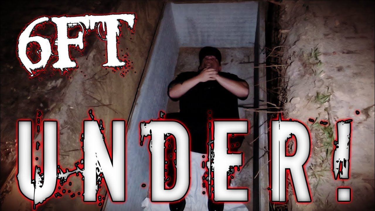 (6FT UNDER IN A GRAVE AT 3AM) The Eeriest Paranormal Experiment Ever Conducted!