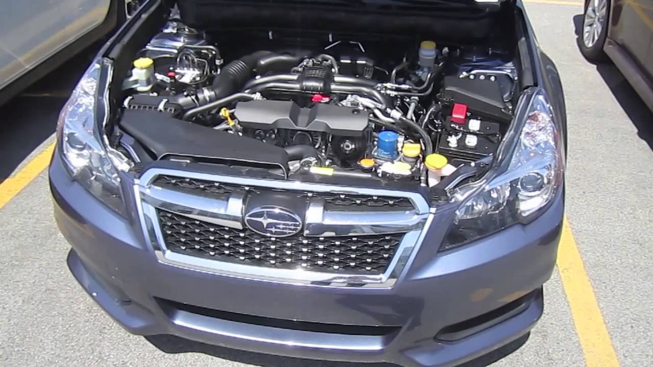 2011 subaru legacy 2.5 engine