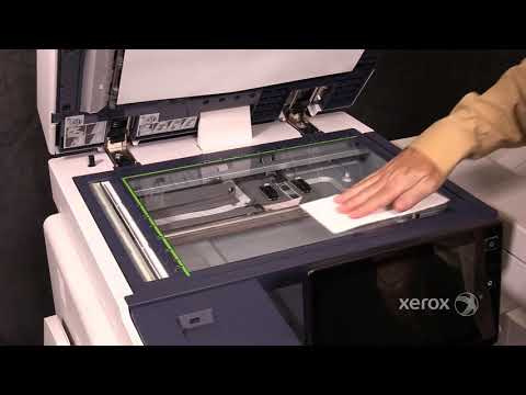 Xerox® AltaLink® B8090 Family Cleaning the Platen Glass