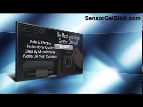 Sensor Gel Stick - The newest and most effective way of cleaning your DSLR sensor!