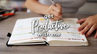 Get Productive With Me | A DAY IN MY LIFE
