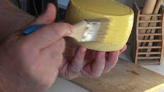 Домашний сыр: латексное покрытие для твёрдых и полутвёрдых сыров.