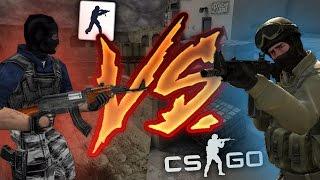 CS 1.6 VS CS:GO (ЛОБ В ЛОБ)