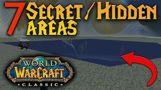7 MORE Secret, Hidden Areas/Locations in Classic WoW