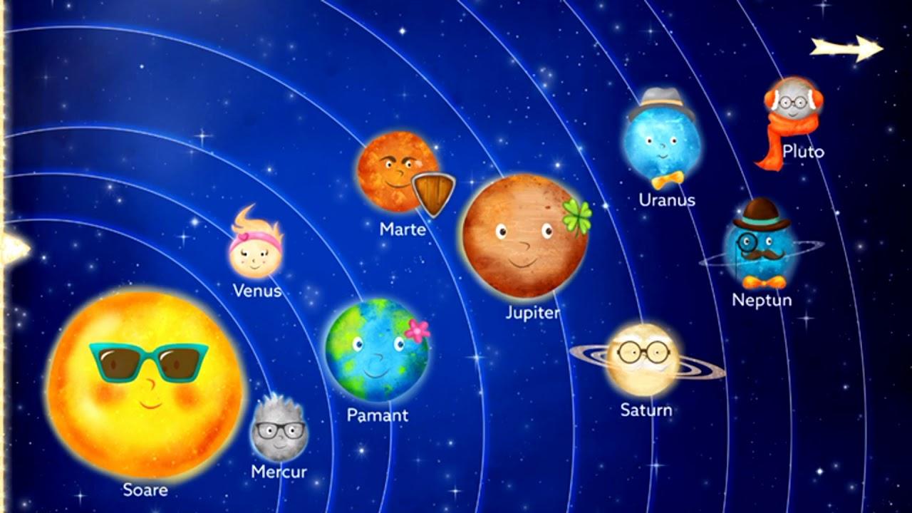 Sistemul solar   Desene animate educative pentru copii ...   Sistemul Solar