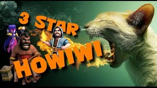 Clash of Clans - 3 star HOWIWI! NO GOLEMS! 3 Star with Hogs, Wizards n' Witches!