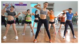 AEROBIC DANCE | 7-дневная программа сжигания жира в брюшной полости - 50 минут каждый день