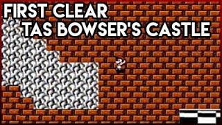 Super Mario Bros. 3 Any% Run w/TAS bowser Castle
