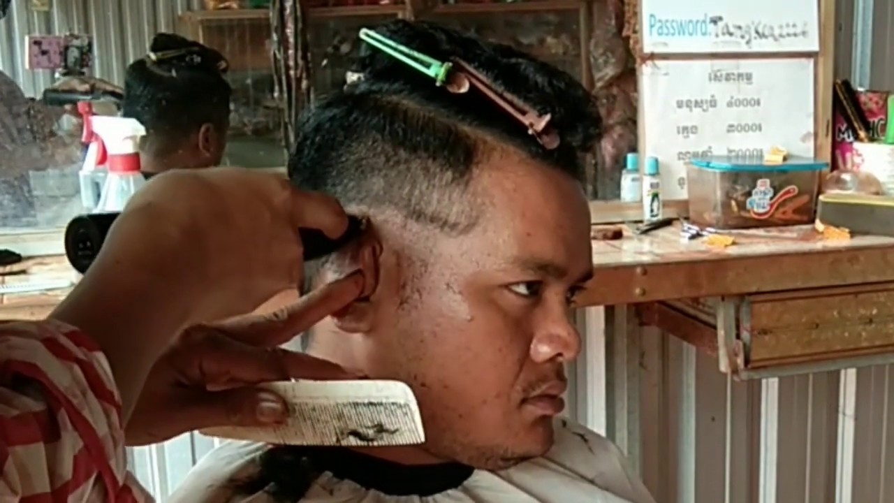 skin fade tutorial , how to cut men's hair with clippers ...