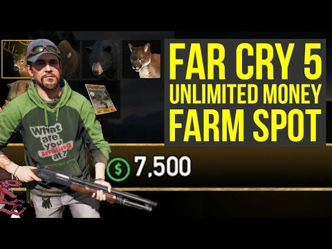 Far Cry 5 Money Farm Spot For UNLIMITED MONEY (Far Cry 5 Unlimited Money - Far Cry 5 making money)