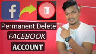 How To Permanently Delete Facebook Account | facebook account delete kaise kare
