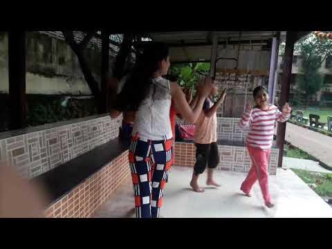 "Amitabhji ka birth day wishes by the children of Himalaya joggers"" park , Ghatkopar, Mumbai"