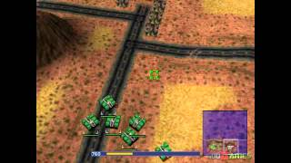 Warzone 2100 - Gameplay PSX (PS One) HD 720P (Playstation classics)