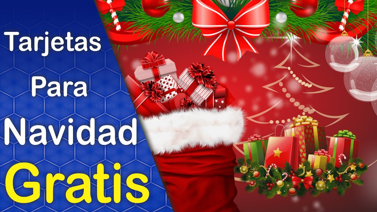 Diseños de Tarjetas de Navidad Estilo Folleto Descargar Gratis ...