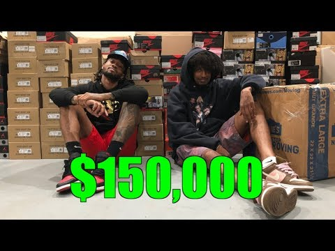 CRAZY $150,000 COLLECTION BUYOUT !!!! (SNEAKERCON)
