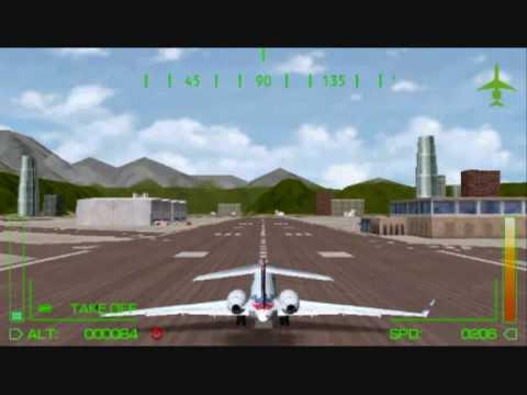 Pilot academy PSP gameplay