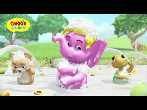 Carrie Junior Yoghurt Hair & Body Wash (BM)