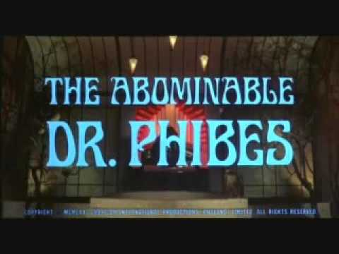 Vincent Price - The Abominable Dr  Phibes - Warmarch of the Priests - opening credits